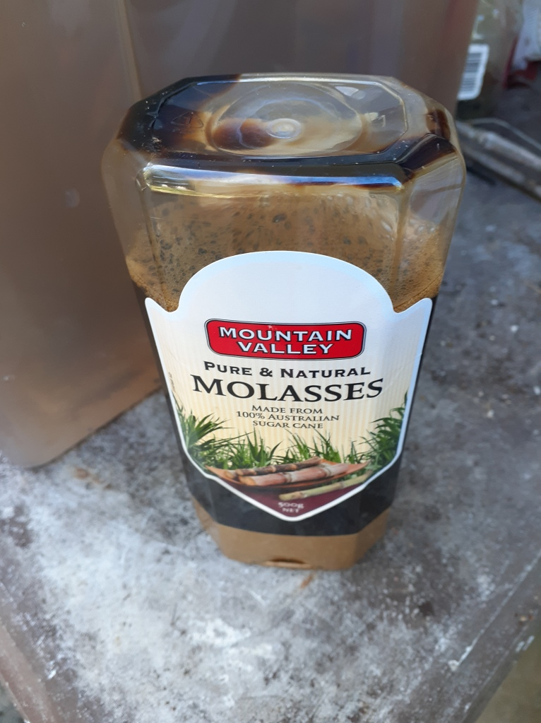 This image has an empty alt attribute; its file name is molasses.jpg